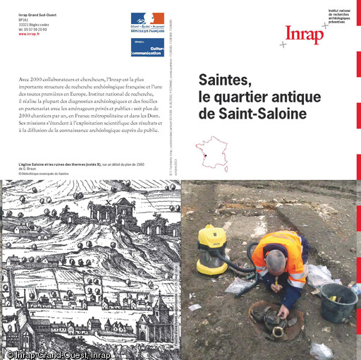 Saintes, le quartier antique de Saint-Saloine